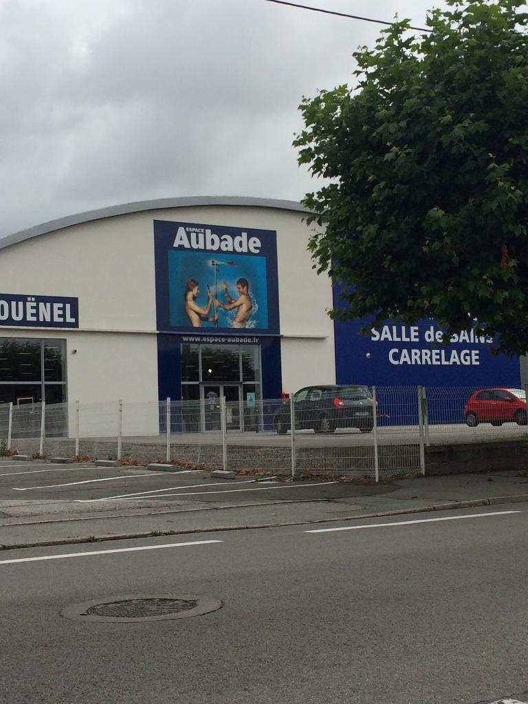 Espace Aubade Quimper - Equipements salle de bain (adresse)