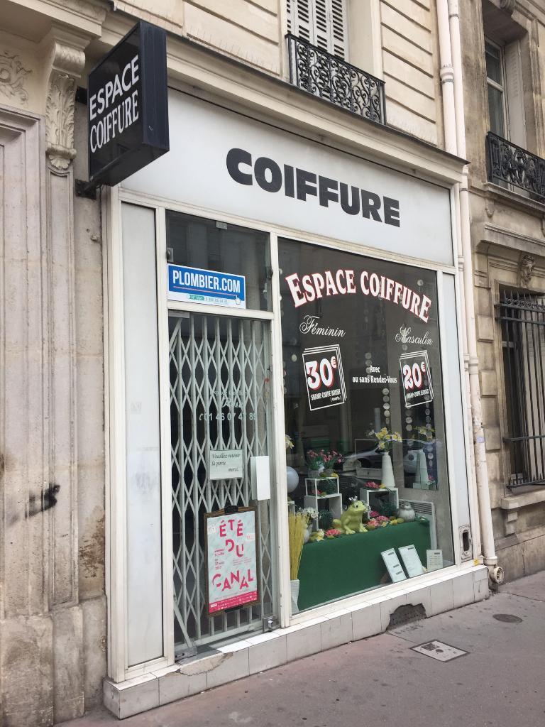 Espace Coiffure Coiffeur 46 Rue Louis Blanc 75010 Paris Adresse