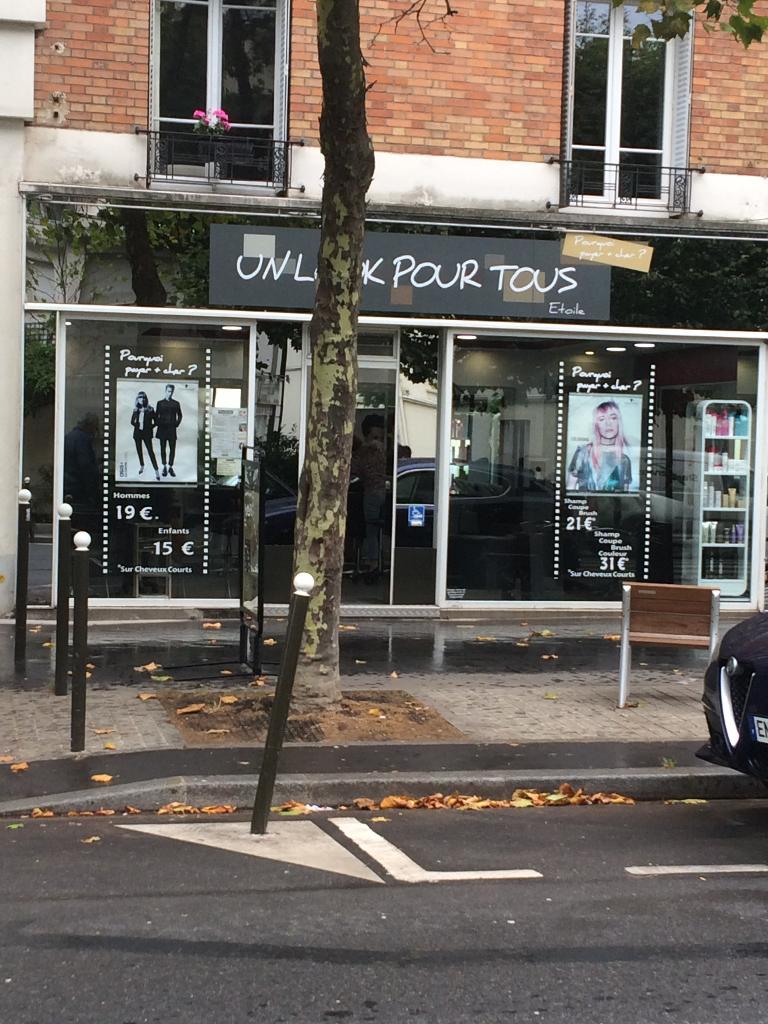 Espace coiffure 98 coiffeur 98 avenue victor hugo 92100 for Tchip coiffure boulogne billancourt