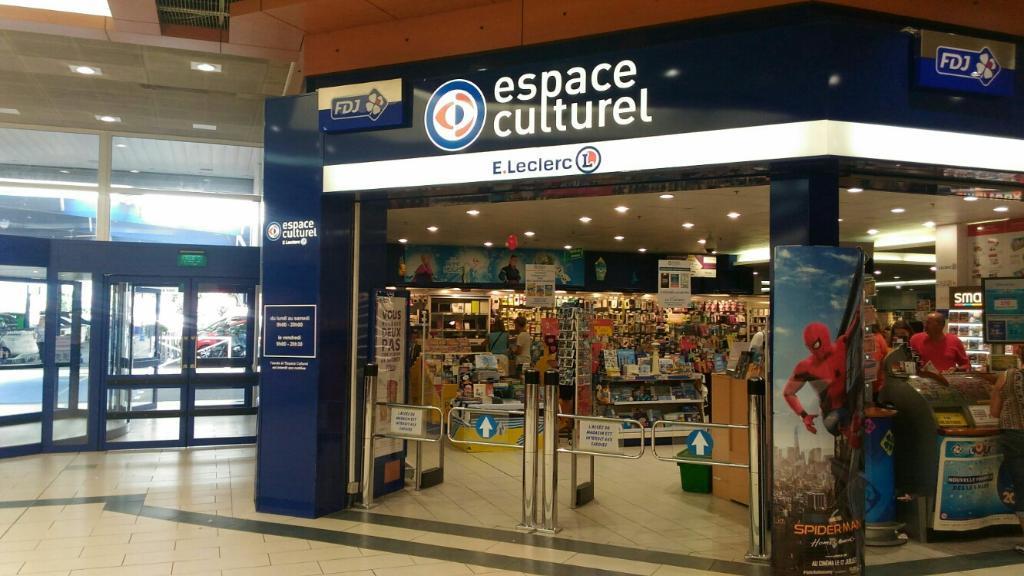 Espace culturel leclerc librairie 55 boulevard d port s 35400 saint malo adresse horaire - Horaire leclerc saint aunes ...