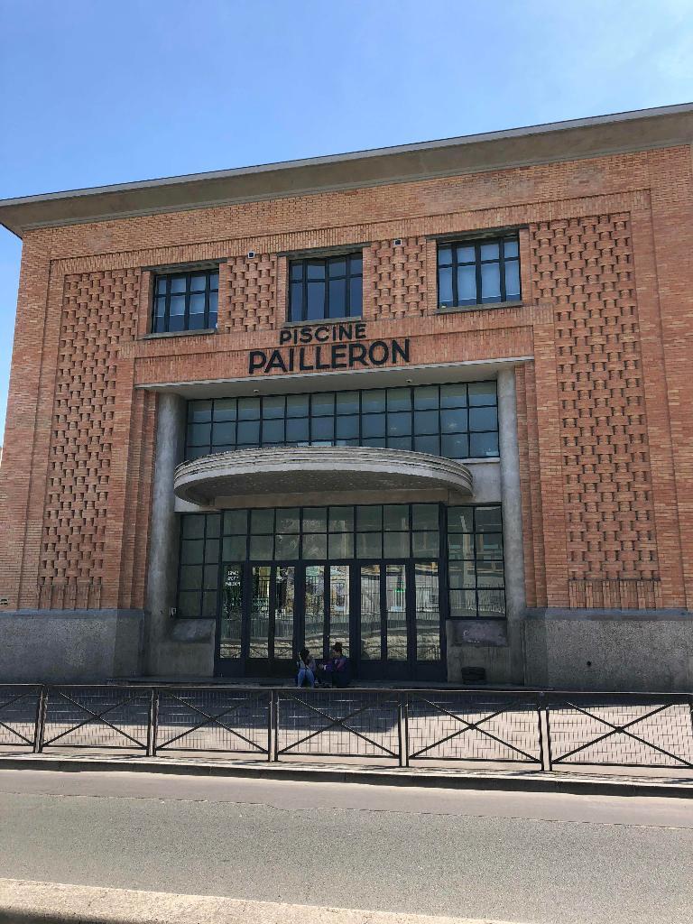 Espace Sportif Pailleron Infrastructure Sports Et Loisirs 32 Rue