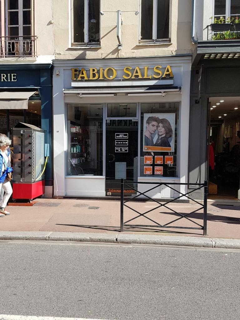 Fabio Salsa Coiffeur 10 Rue Vieux Marche 78100 Saint Germain En