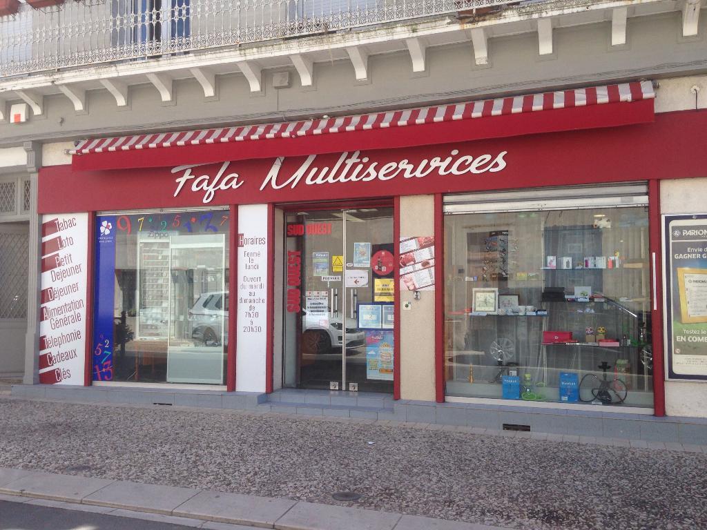 Fafa multi services bureau de tabac rue kilmaine tonnay