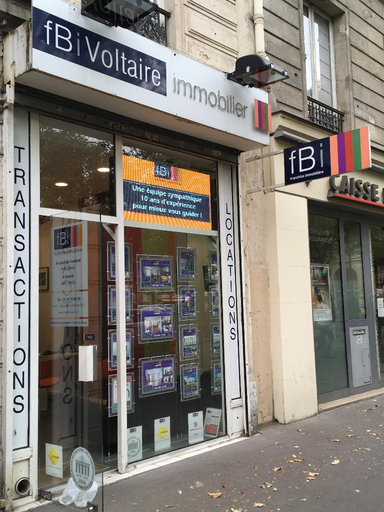 Fbi voltaire immobilier agence immobili re 3 place l on for Agence immobiliere 75011
