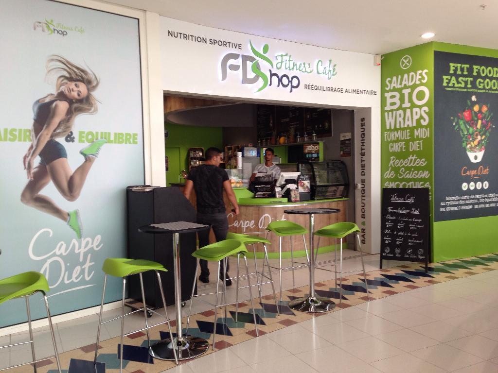 Fd shop fitness cafe produits di t tiques et naturels for Garage les moulinets saint herblain