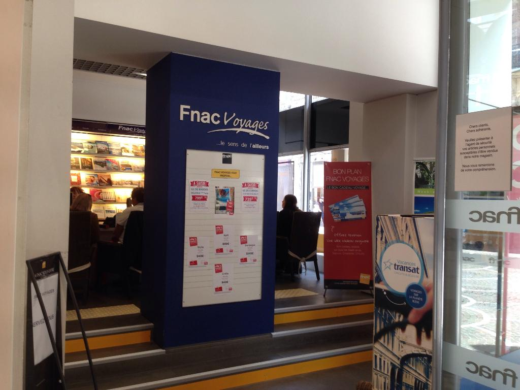 Fnac Voyages Lille Agence De Voyages 20 Rue Saint Nicolas 59000