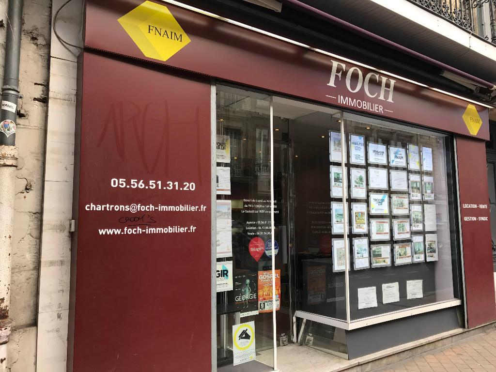 Foch immobilier agence immobili re 28 cours portal for Agents immobiliers bordeaux