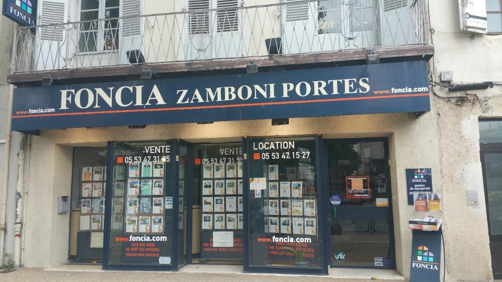 Foncia zamboni portes agence immobili re 37 avenue for Agence immobiliere 37