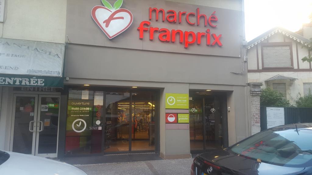 Franprix supermarch hypermarch 80 avenue marceau for Garage marceau colombes avis