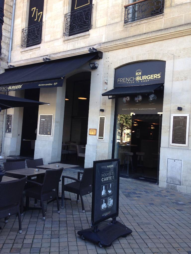 frenchburgers restaurant 34 all es tourny 33000 bordeaux adresse horaire. Black Bedroom Furniture Sets. Home Design Ideas
