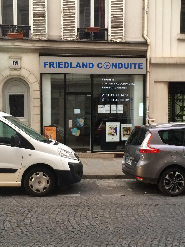 friedland conduite auto cole 6 rue berryer 75008 paris adresse horaire. Black Bedroom Furniture Sets. Home Design Ideas