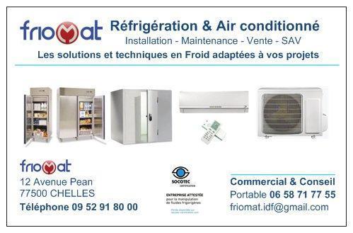 Friogenie installations frigorifiques 12 avenue p an for Garage peugeot chelles 77500