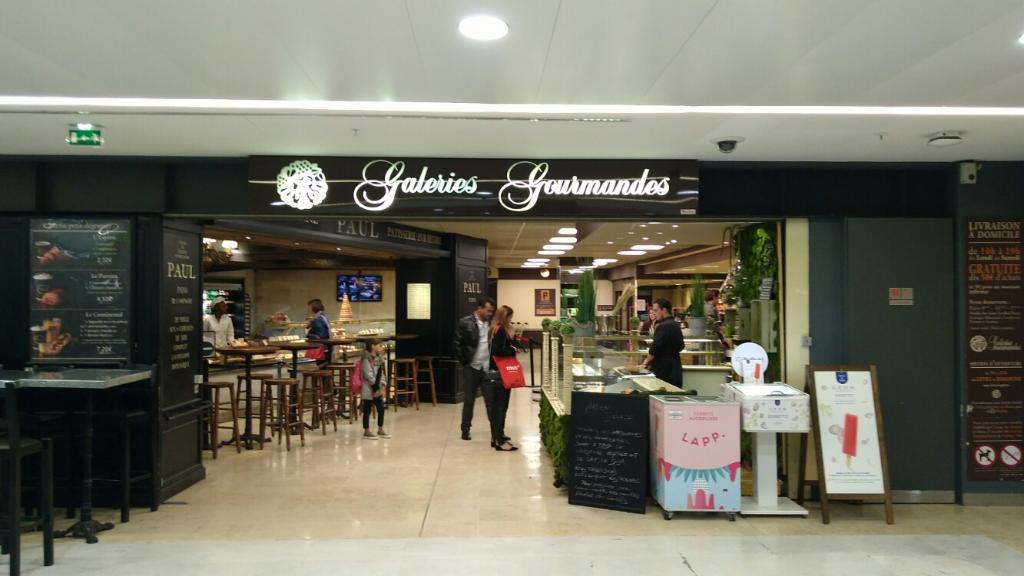 Galerie gourmandes supermarch hypermarch 2 place de - Galeries gourmandes porte maillot horaires ...