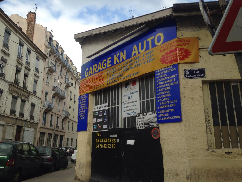 Kn auto garage automobile 5 rue anatole france 69100 for Garage peugeot villeurbanne