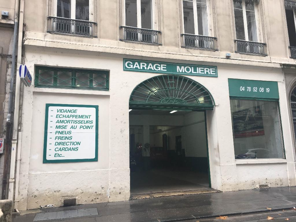 Garage moli re garage automobile 6 rue moli re 69006 for Garage ouvert lyon