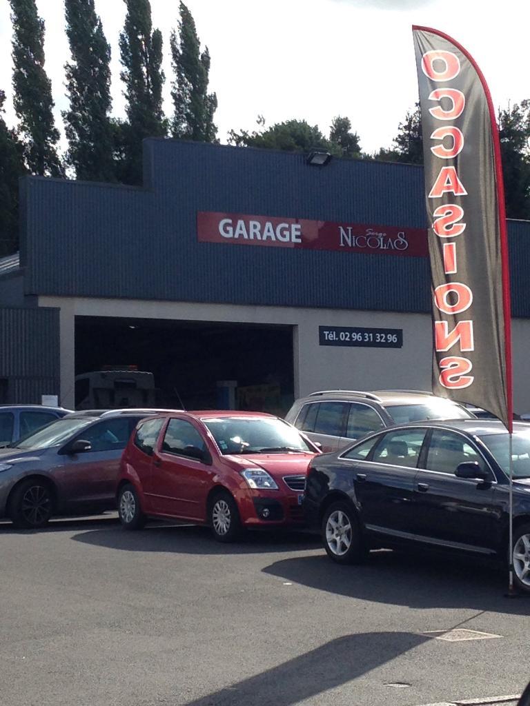 Garage nicolas serge garage automobile 61 rue docteur lavergne 22400 lamballe adresse horaire - Garage nicolas champ sur drac ...