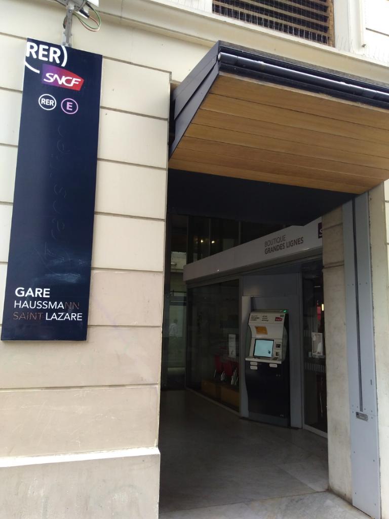gare haussmann saint lazare transport ferroviaire 22 rue joubert 75009 paris adresse horaire. Black Bedroom Furniture Sets. Home Design Ideas