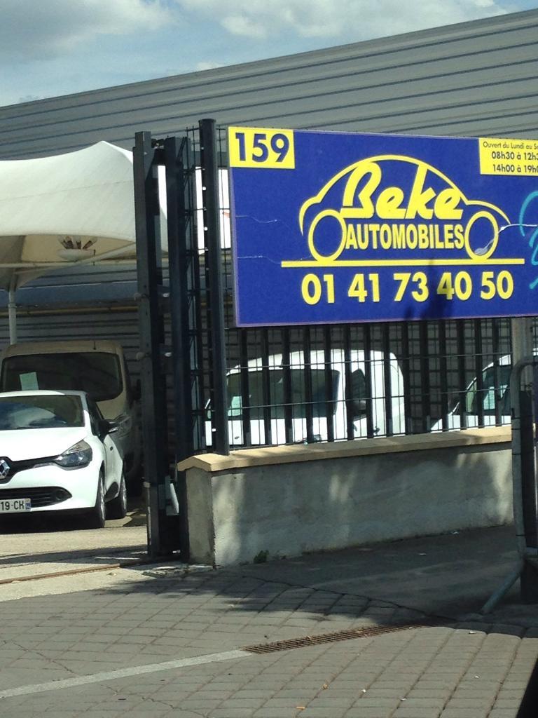 Gaspard beke concessionnaire automobile 163 avenue de for Garage beke automobiles thiais