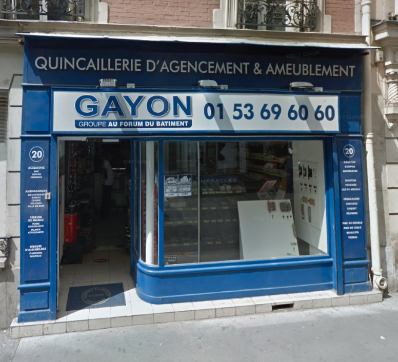 gayon bricolage et outillage 20 rue de la croix nivert 75015 paris adresse horaire. Black Bedroom Furniture Sets. Home Design Ideas