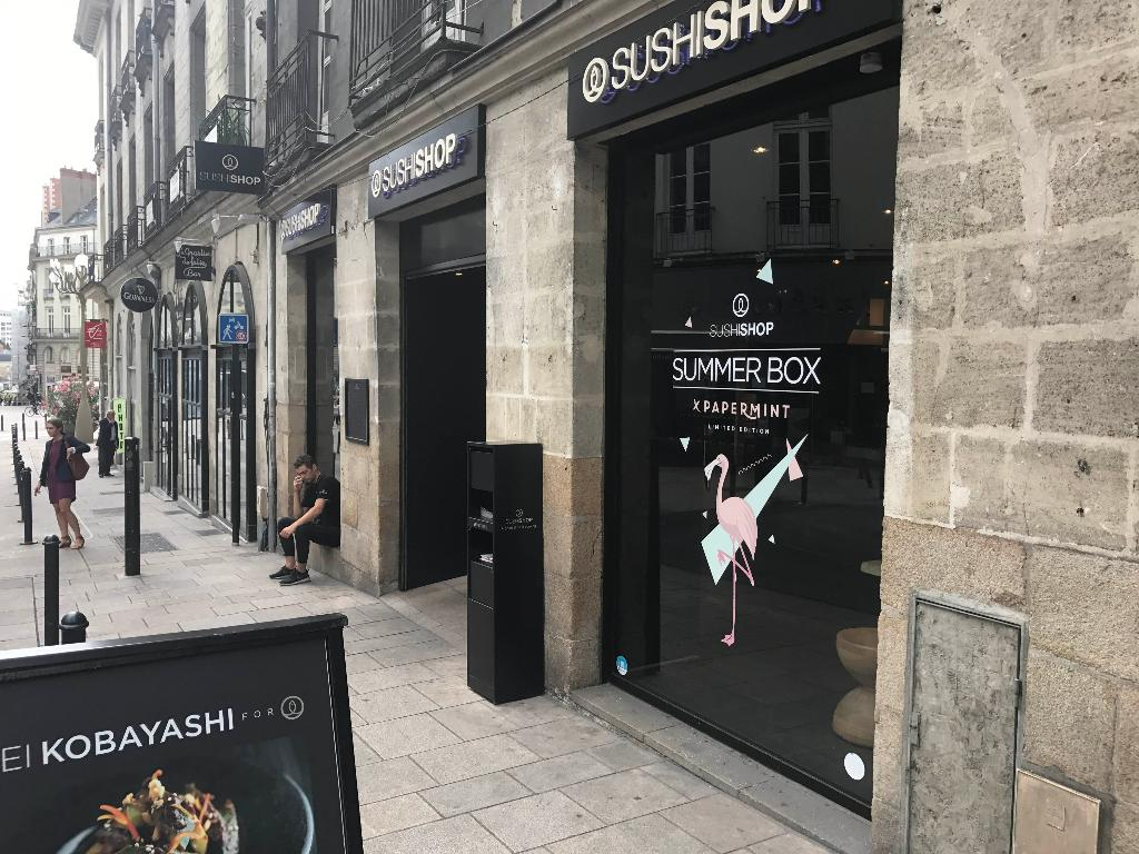 sushi shop nantes racine restaurant 3 rue racine 44000 nantes adresse horaire. Black Bedroom Furniture Sets. Home Design Ideas