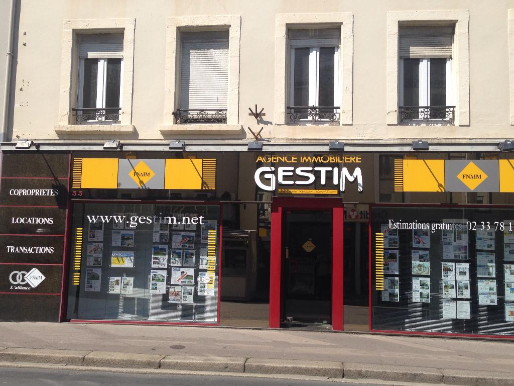 Agence gestim agence immobili re 55 rue fran ois la for Agence immobiliere cherbourg
