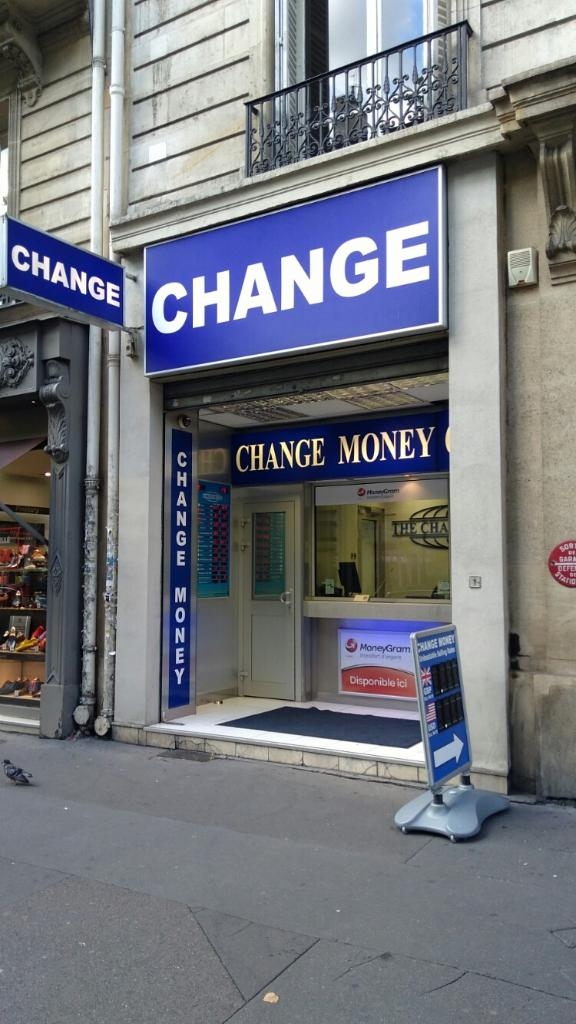 Change group france bureau de change 134 boulevard - Bureau de change paris ouvert le dimanche ...