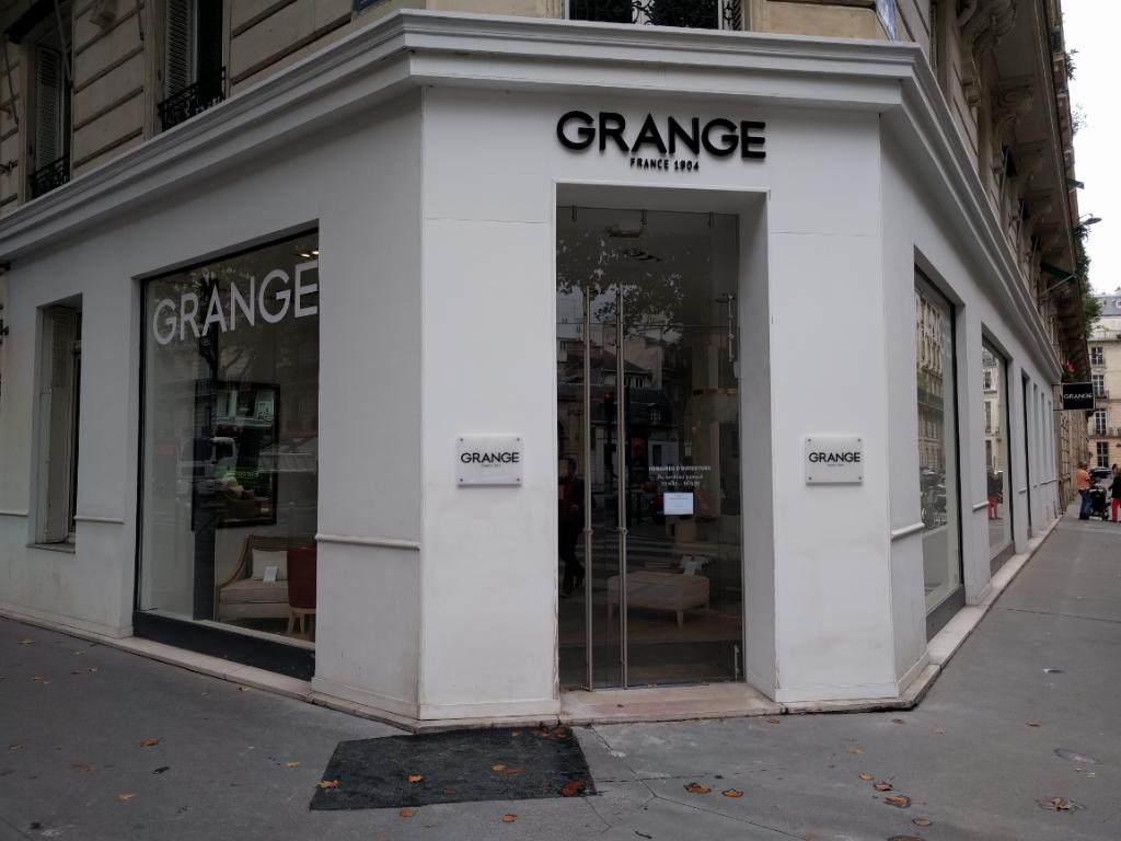 grange magasin de meubles 254 boulevard saint germain 75007 paris adresse horaire. Black Bedroom Furniture Sets. Home Design Ideas