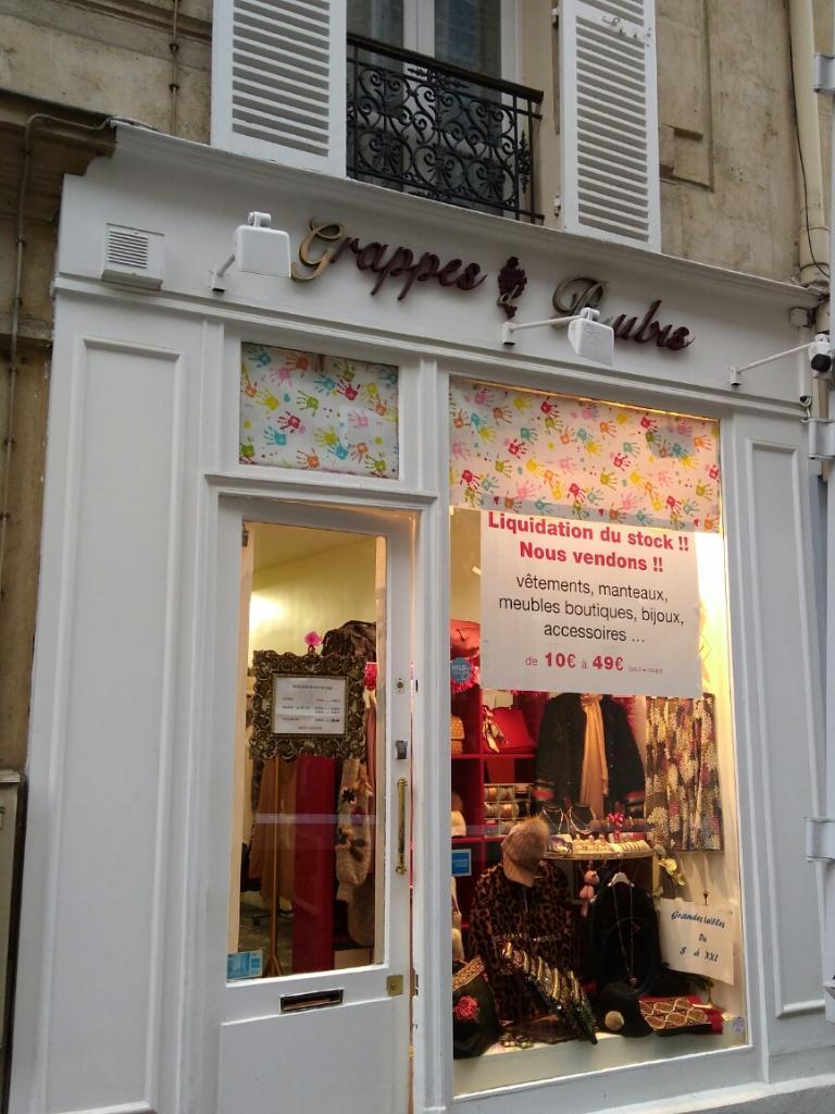 e291193d6db5a Grappes De Rubis Paris - Magasins de vêtement (adresse, horaires)