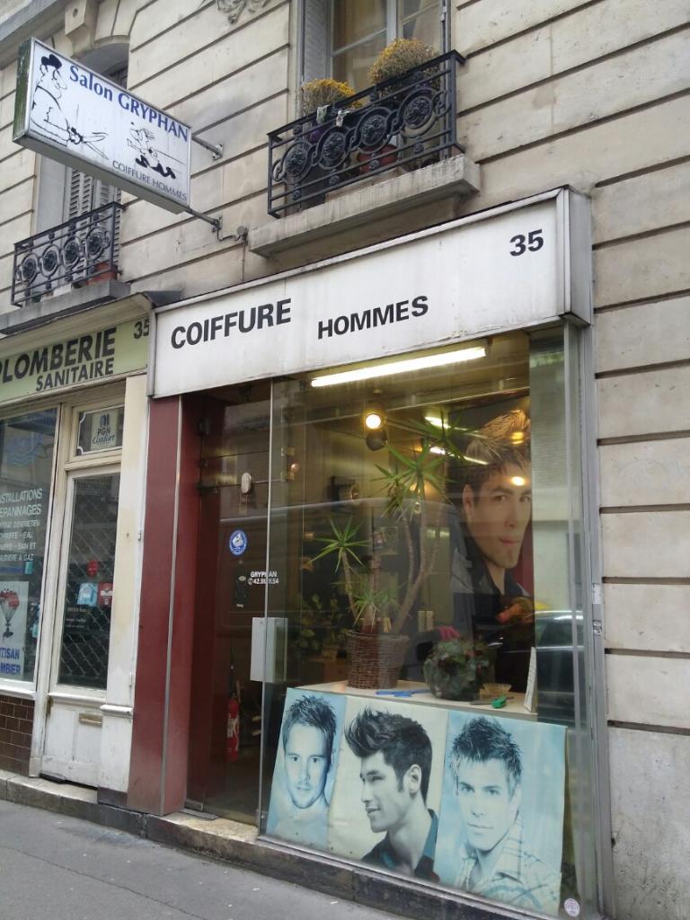 coiffure homme 75018