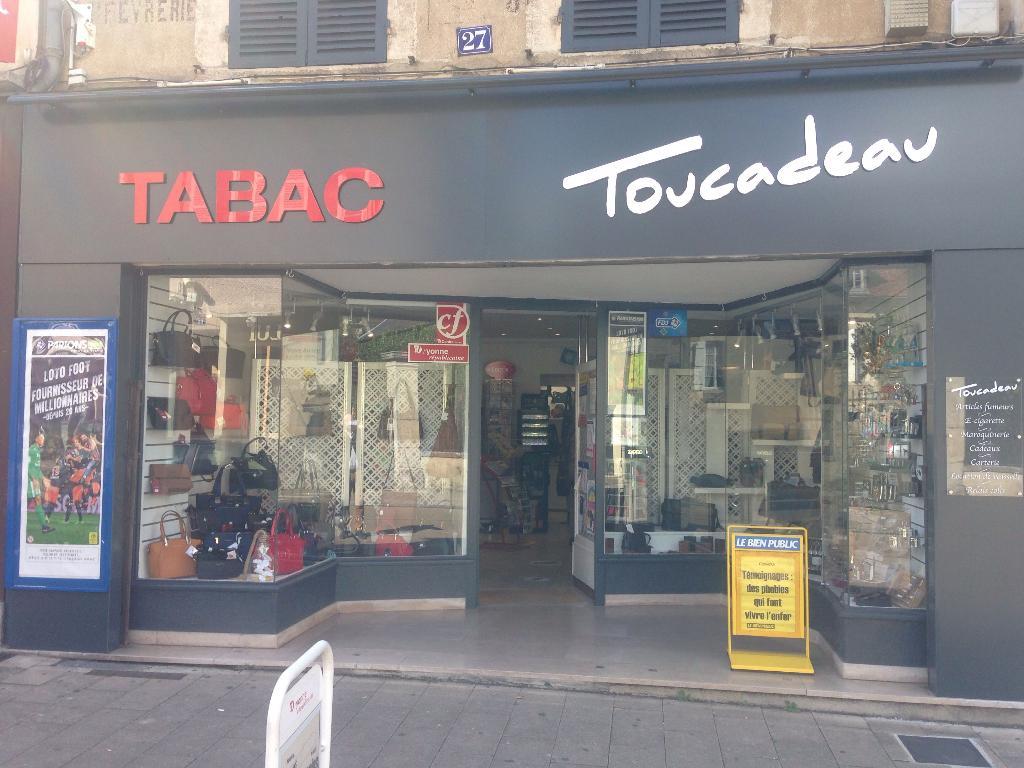 Toucadeau bureau de tabac rue paris avallon adresse