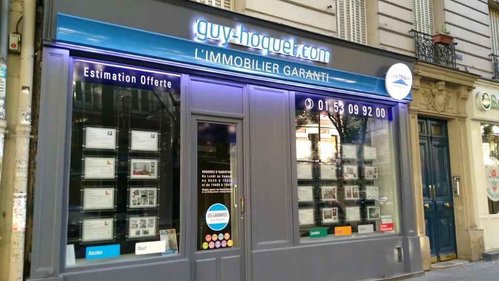 Guy hoquet immobilier agence immobili re 47 rue custine for Agence immobiliere 47