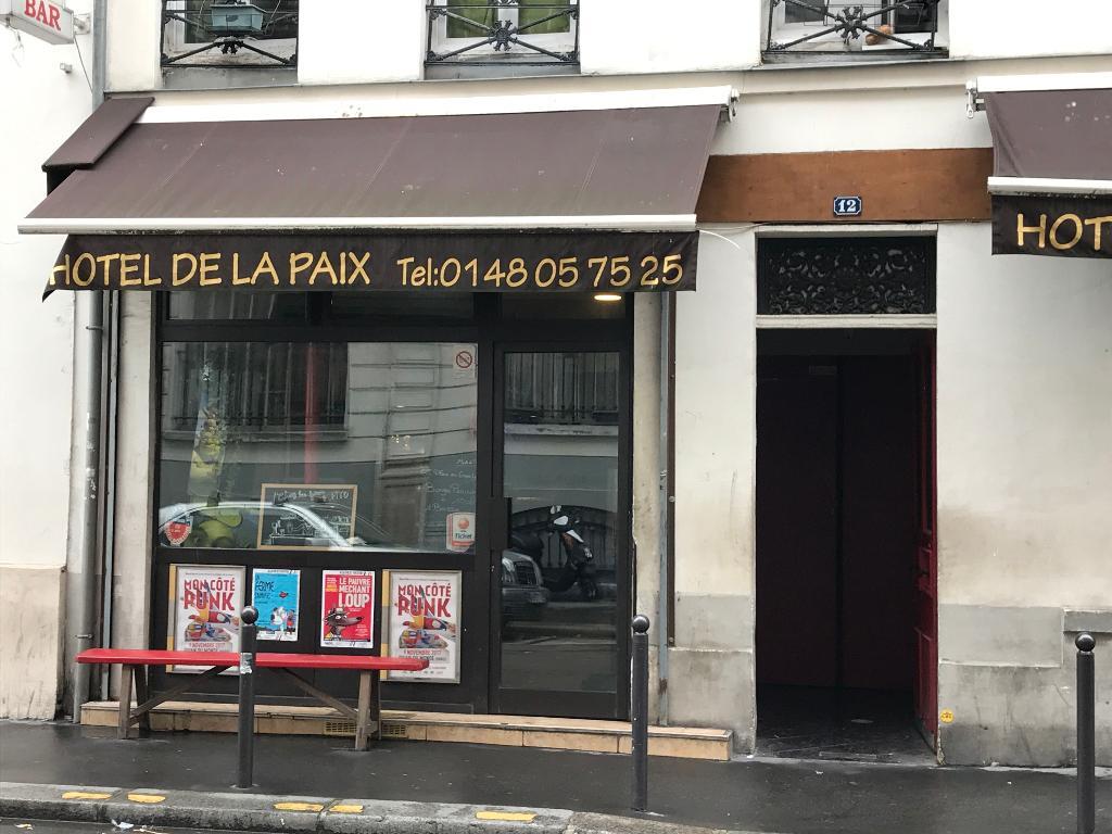 Hotel de la paix h tel 12 rue gambey 75011 paris for Garage oberkampf parking
