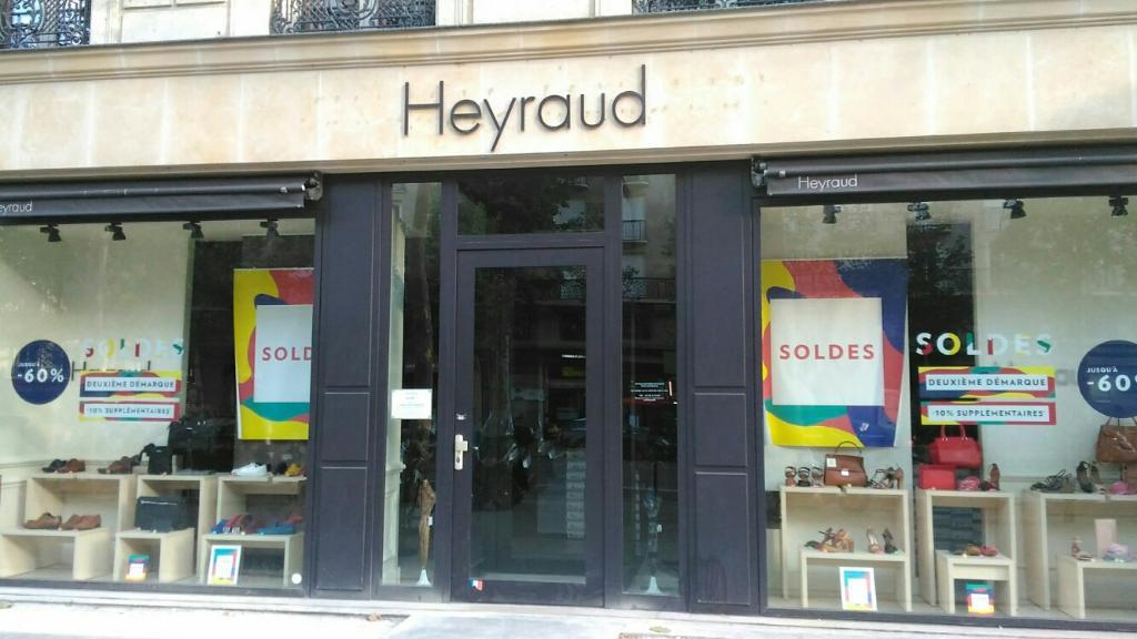 Heyraud - Chaussures, 5 boulevard Madeleine 75001 Paris - Adresse ... d78f7f612108