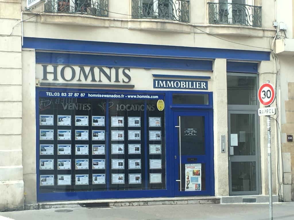 Homnis agence immobili re 110 rue saint dizier 54000 for Agence immobiliere 259 avenue de boufflers nancy