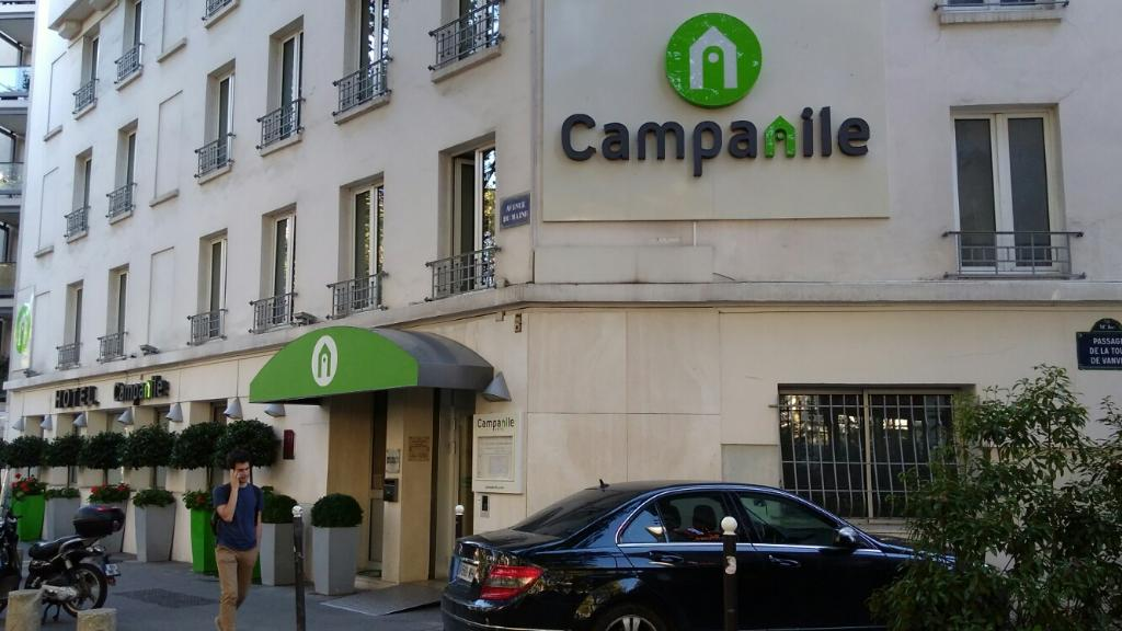 H tel campanile maine montparnasse h tel 146 avenue du for Garage avenue du maine
