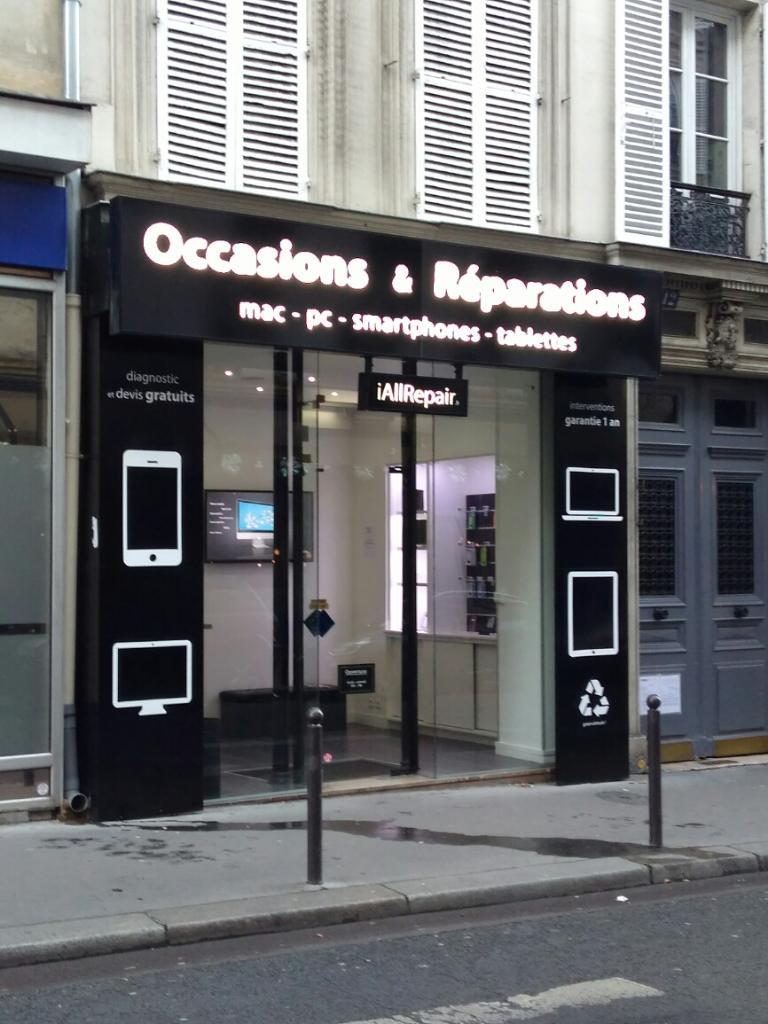 Iallrepair paris9 vente de mat riel et consommables informatiques 12 rue notre dame de - Office depot saint lazare ...