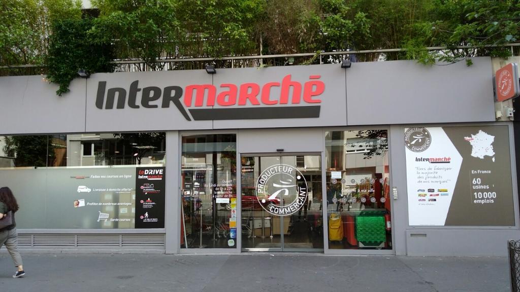intermarch express supermarch hypermarch 81 rue de. Black Bedroom Furniture Sets. Home Design Ideas
