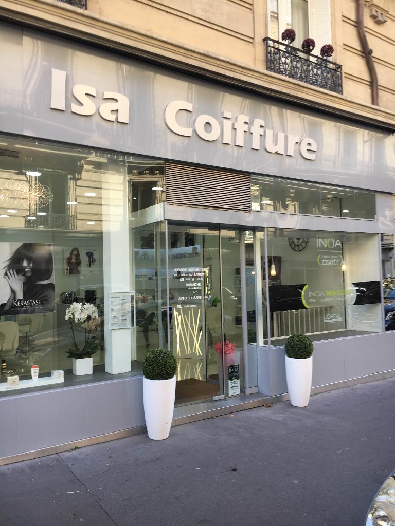 Isa Coiffure Coiffeur 6 Rue Meissonier 75017 Paris Adresse Horaire