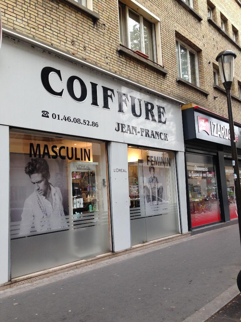 jean franck coiffure coiffeur 36 avenue pierre grenier. Black Bedroom Furniture Sets. Home Design Ideas