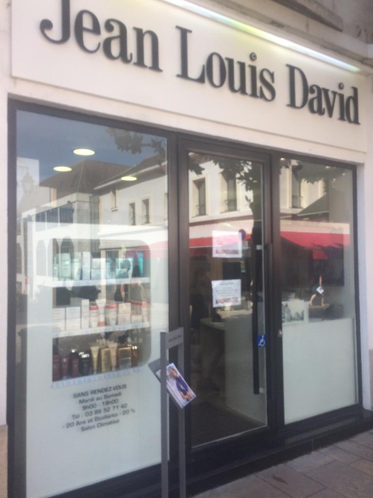 Carte Carrefour Jean Louis David.Jean Louis David Auxerre Coiffeur Adresse Avis