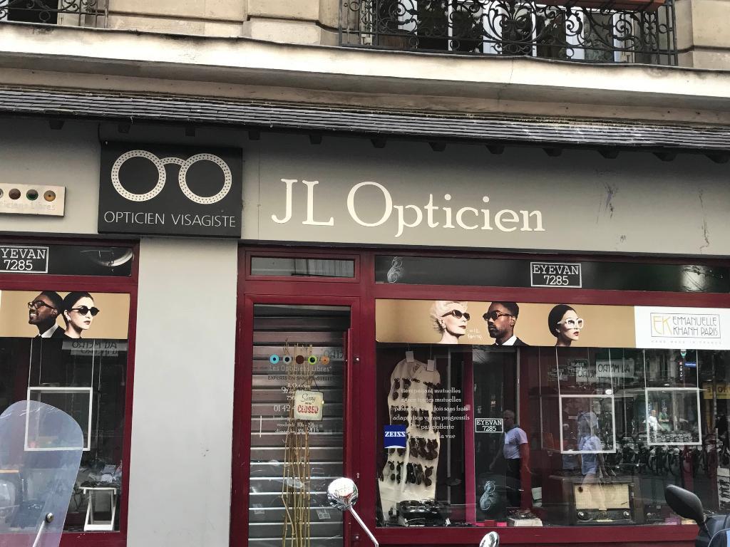 dfa7756335a66 JL Opticien Paris - Opticien (adresse