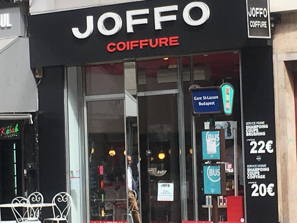 Bien connu Joffo Coiffeur - Coiffeur, 102 rue Saint Lazare 75009 Paris  NA35