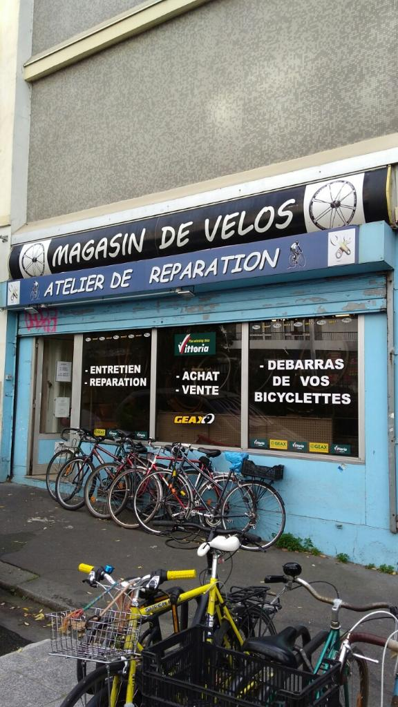 Jpcycles vente et r paration de v los et cycles 10 rue for Garage velo paris