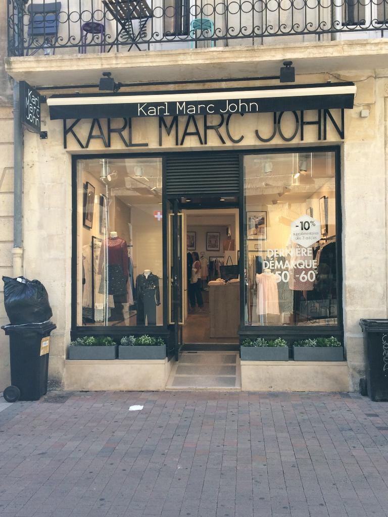 Karl Marc John Vetements Femme 55 Rue Porte Dijeaux 33000