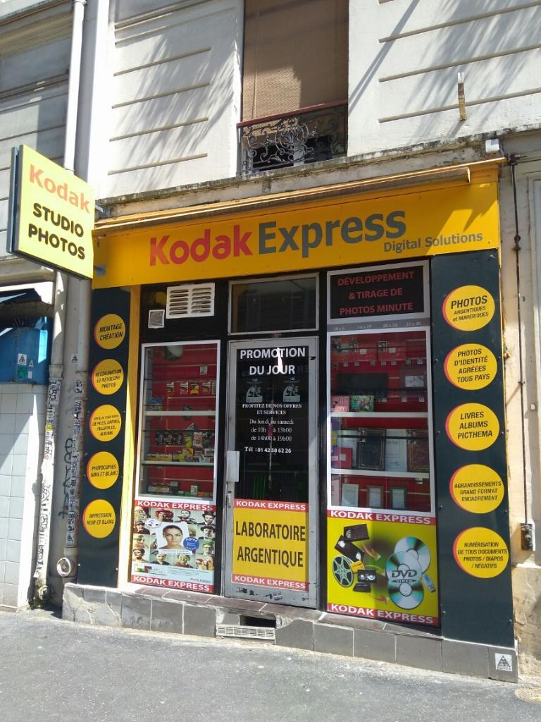 kodak express paris 18 d veloppement et tirage photo 2 rue sainte isaure 75018 paris. Black Bedroom Furniture Sets. Home Design Ideas
