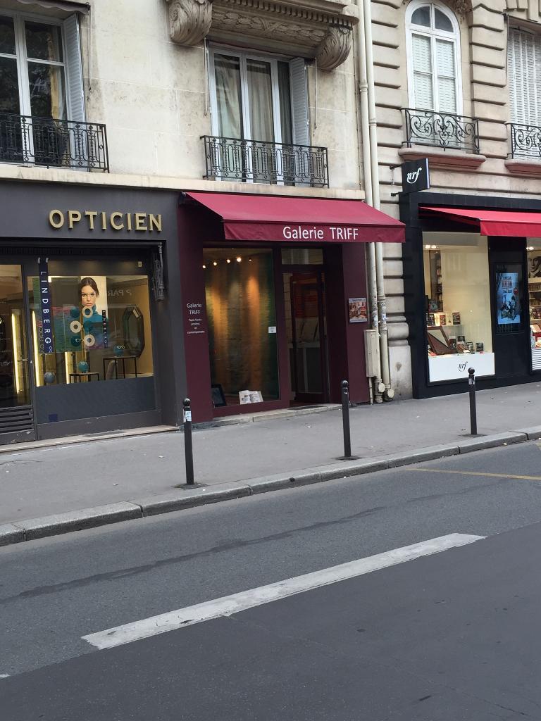 Galerie Triff - Nettoyage de tapis, 13 boulevard Raspail 75007 ...