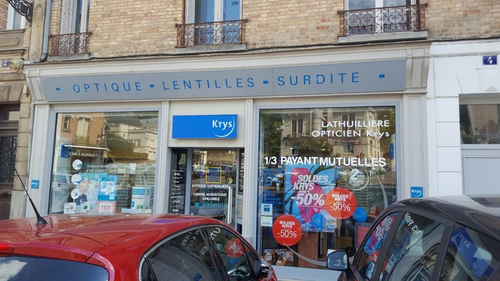 9b85ec58641540 Krys Lathuillière Opticien, 4 pl Hôtel de Ville, 02400 Château Thierry -  Opticien (adresse, horaires)