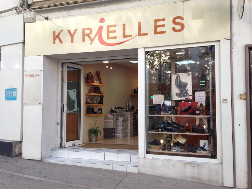 kyrielles chaussures 43 cours victor hugo 13300 salon