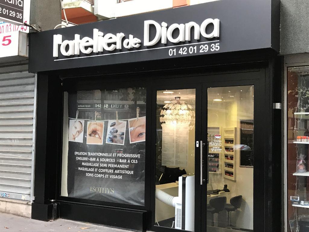 l 39 atelier de diana institut de beaut 114 rue petit 75019 paris adresse horaire. Black Bedroom Furniture Sets. Home Design Ideas