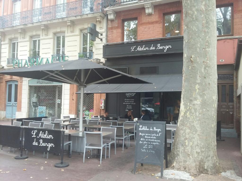 L 39 atelier du burger restaurant 19 boulevard strasbourg for Atelier cuisine toulouse
